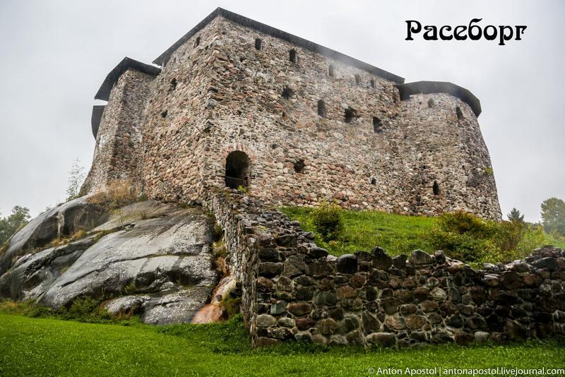 Замок, который стал жертвой обмеления Балтийского моря