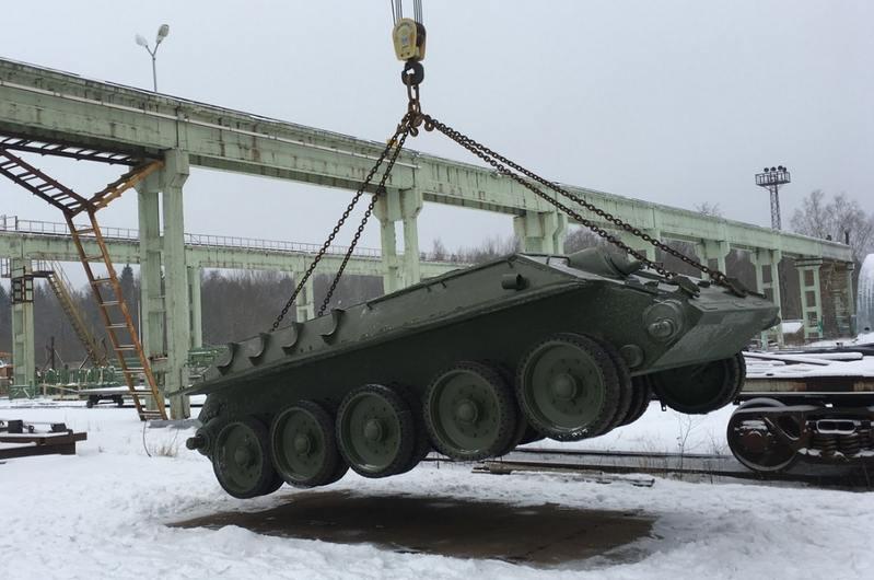 По Ида-Вирумаа провезли восстановленный корпус Т-34