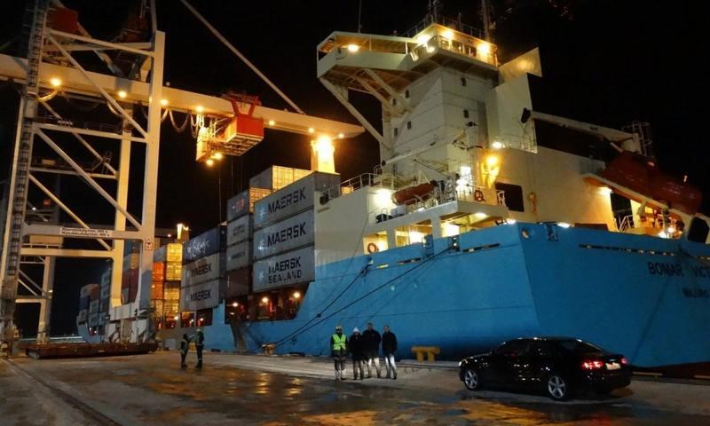 Не транзитом единым: порт Силламяэ стал больше работать с эстонскими грузами и достиг лучших показателей за 12 лет