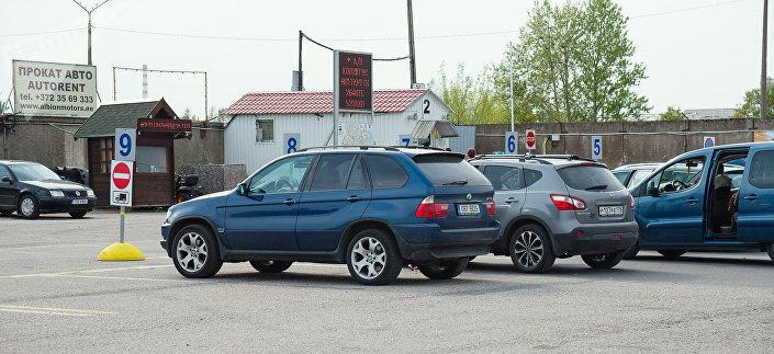Пересечение российской границы на лизинговом автомобиле